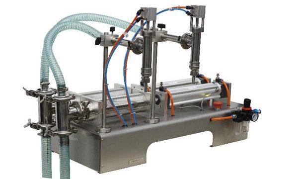 Полуавтоматична машина за топло пълнене с мед