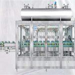 Претегляща ротационна машина за пълнене на смазочни масла