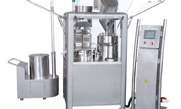 Автоматична машина за пълнене на капсули за пълнене на прах