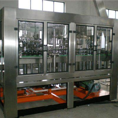 Автоматична машина за пълнене с вода в стъклена бутилка