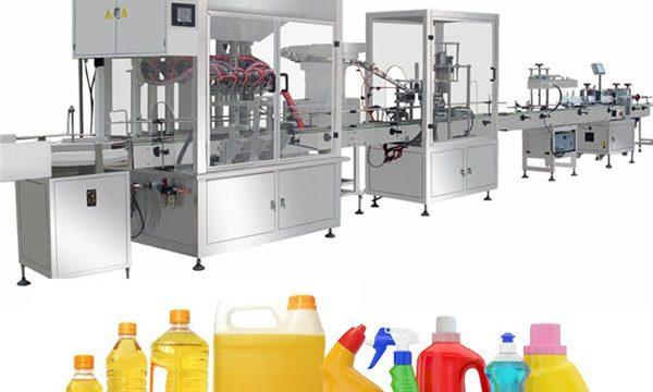 Гравитационна машина за пълнене с белина, производствена линия за пълнене с белина