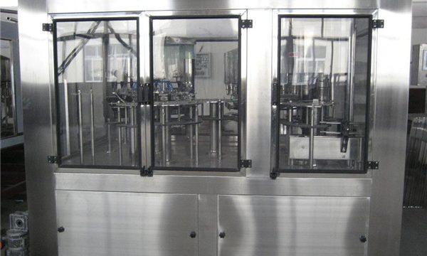 Пневматична машина за пълнене Малка машина за пълнене с течност, Полуавтоматична машина за пълнене
