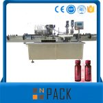 Полуавтоматична машина за пълнене с вакуумна течност