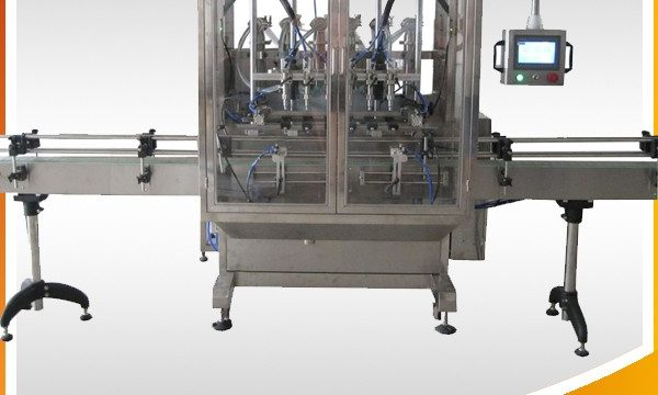 Автоматична машина за пълнене с течност в бутилката