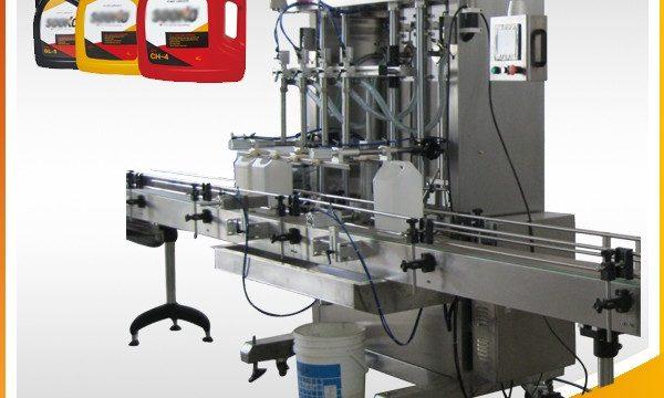 500ml-2L автоматична машина за пълнене с течен препарат / перална машина за пълнене на течности