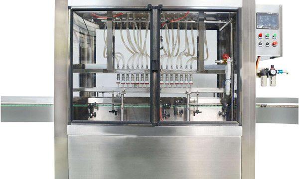 Пълна автоматична машина за пълнене на козметичен крем с 10 глави