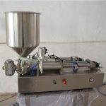 Полуавтоматична ръчна машина за пълнене с масло козметика