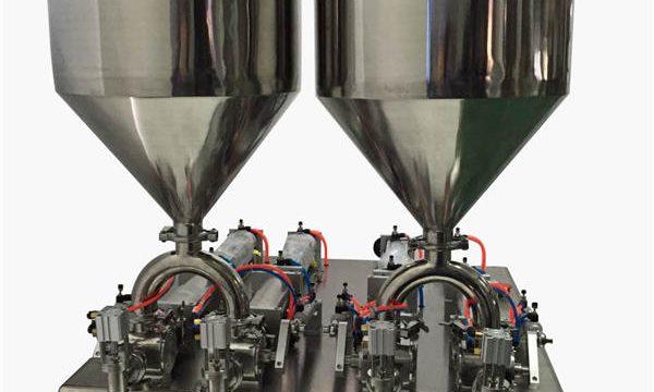 Устойчива полуавтоматична машина за пълнене с крем