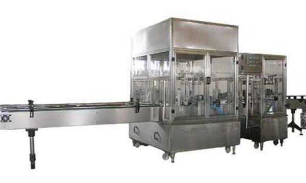 Напълно автоматична машина за пълнене с течен сапун