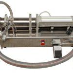 Полуавтоматична машина за пълнене с течен мед с висока вискозитет