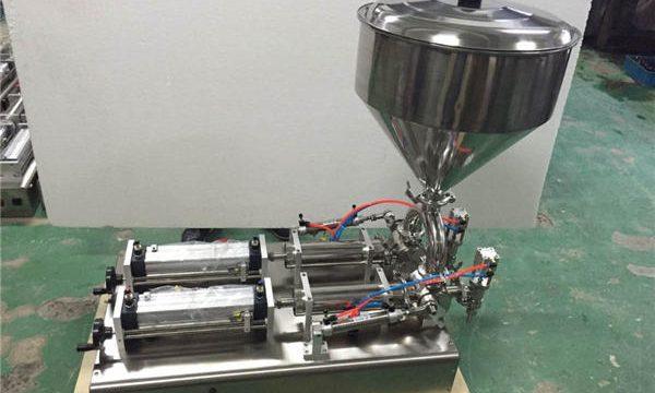 Широко използвана машина за пълнене на сладко от ягоди с двойни глави