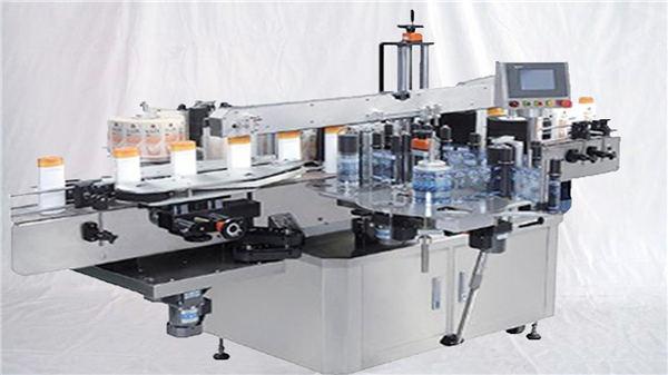 Стъклена парфюмна бутилка машина за горно повърхностно етикетиране