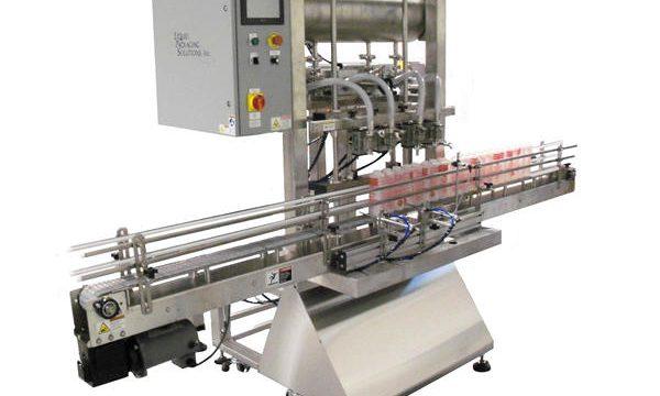 Автоматична машина за пълнене на бутални бутилки