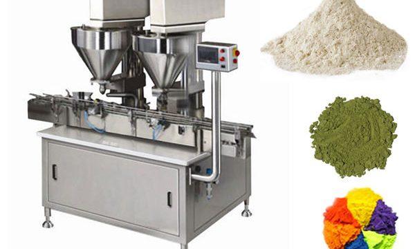 Автоматична машина за пълнене с прах с 2 глави