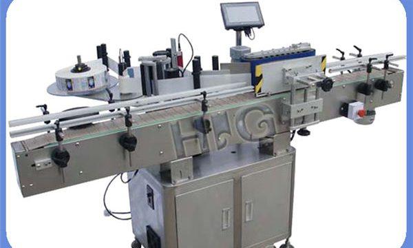 Производител на автоматична машина за етикетиране с кръгла бутилка NPACK с принтер