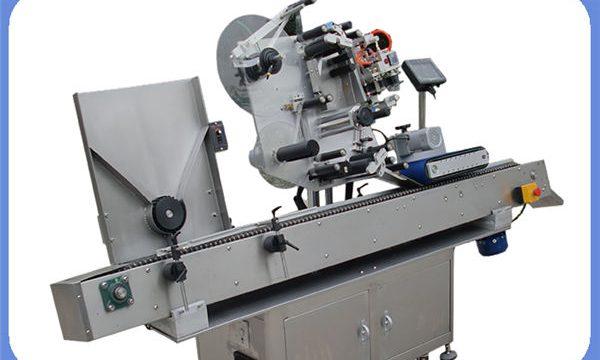 Автоматична машина за етикетиране на стикер за бутилки за кръгли и квадратни