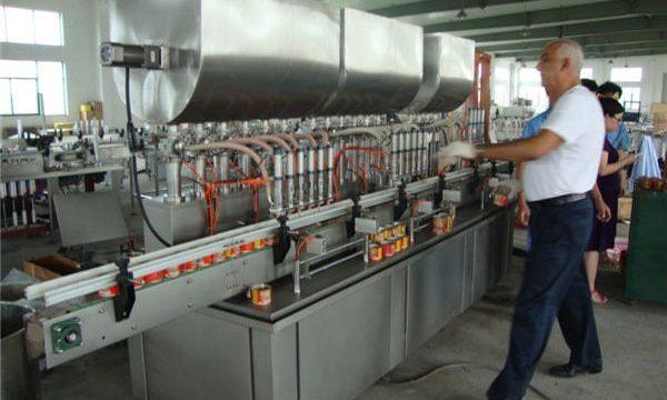 200-1000ml автоматична машина за пълнене на соев сос