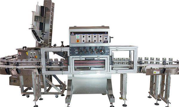 Автоматична машина за пълнене с горещ сос с пневматична помпа