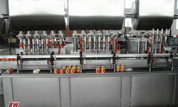 Автоматична машина за пълнене на сос за пица