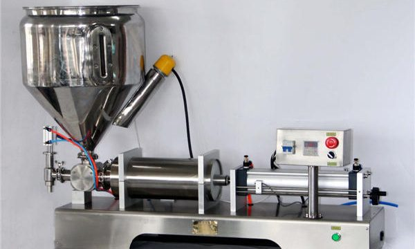 Ръчна машина за пълнене на сос за консерви