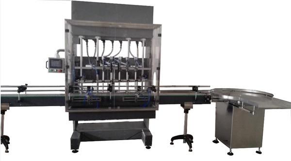 Автоматична машина за пълнене с избелване на бутилки