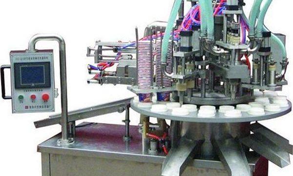 Автоматична козметична машина за пълнене на мази / кремове