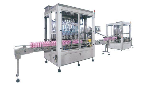 Пълна автоматична машина за пълнене с шампоан с течен сапун