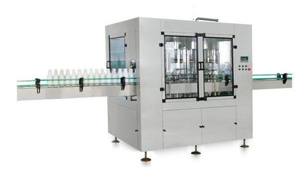 Автоматична машина за пълнене с бутален течен сапун с осма глава