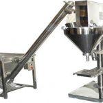 Полуавтоматична машина за пълнене с прах за сухо пълнене