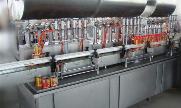 Двуглавна машина за пълнене на пасти с две глави