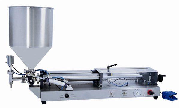 Полуавтоматична машина за пълнене на паста за 3mL-5L