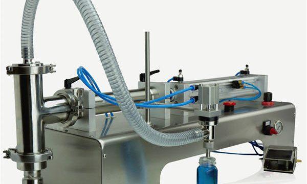 Висококачествена полуавтоматична машина за пълнене с бутала Нов дизайн