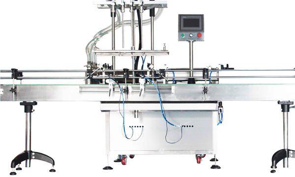 Автоматична машина за пълнене с бутален лосион 8, 10, 12 глави