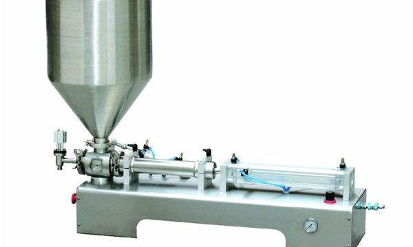 Полуавтоматична машина за пълнене с бутални лосиони за каламин / течен бутилка