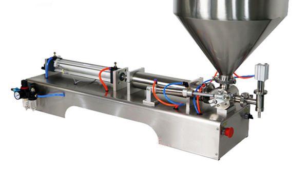 100-1000ml Полуавтоматична машина за пълнене с крем